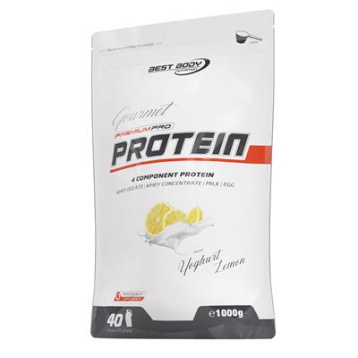 Premium Pro Gourmet Protein - Yogurt Lemon - 1000 g zip bag