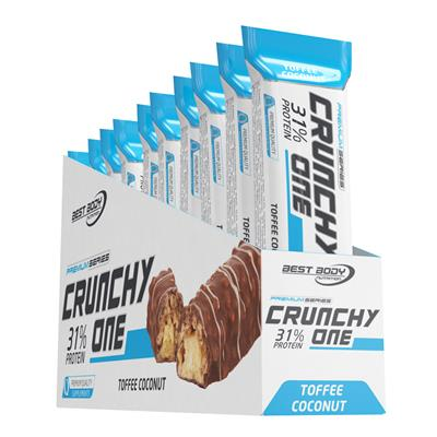 Crunchy One - Toffee Coconut - 10 x 51 g Riegel - Einerfacing