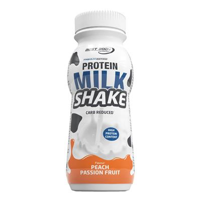 Protein MilkShake - RTD - Peach Passion Fruit - 250 ml PET Flasche