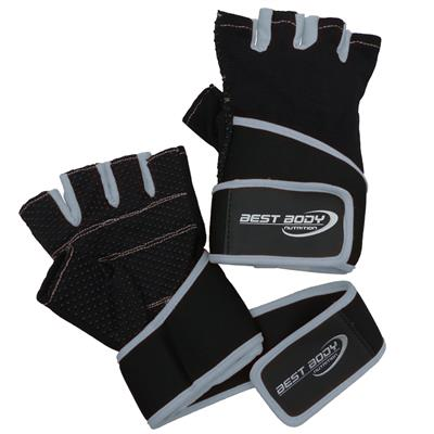 Fitness Gloves Fun - grey - L - pair