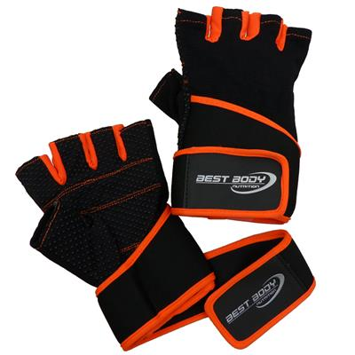 Fitness Gloves Fun - orange - XL - pair