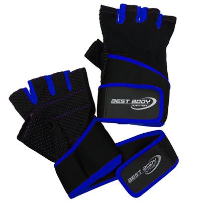 Fitness Gloves Fun - blue - L - pair