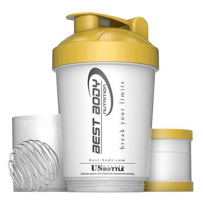 Protein Shaker USBottle - white/gold - design Best Body Nutrition - unit