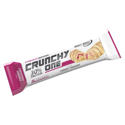 Crunchy One - Cherry Yoghurt - 51 g Riegel