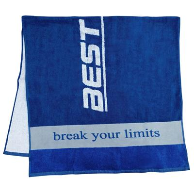 towel 70 x 130 - blue - design Best Body Nutrition - unit