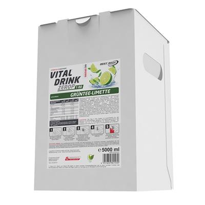 Vital Drink - Grüntee Limette - 5000 ml Bag in Box