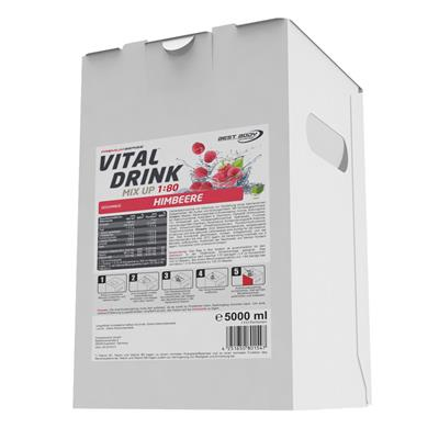 Vital Drink - Raspberry - 5000 ml bag in box