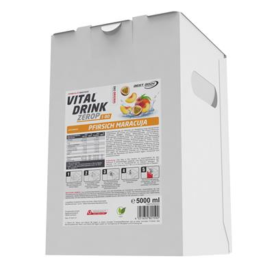 Vital Drink - Peach Passion Fruit - 5000 ml bag in box