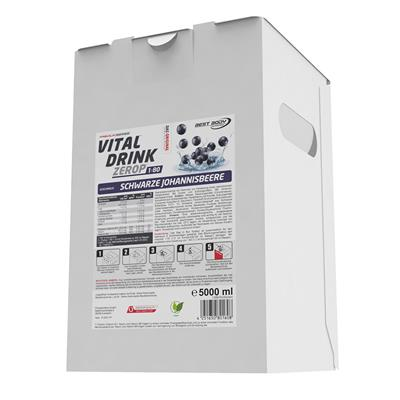 Vital Drink - Schwarze Johannisbeere - 5000 ml Bag in Box