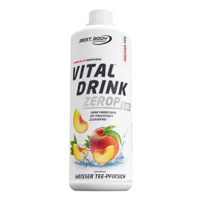 Vital Drink - White Tea Peach - 1000 ml bottle