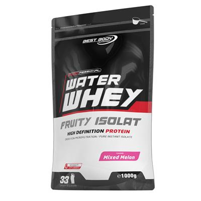Professional Water Whey Fruity Isolat - Mixed Melon - 1000 g zip bag