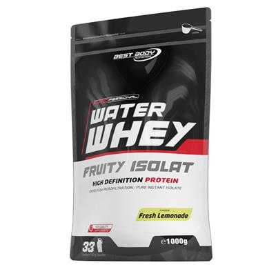 Professional Water Whey Fruity Isolat - Fresh Lemonade - 1000 g Zipp-Beutel