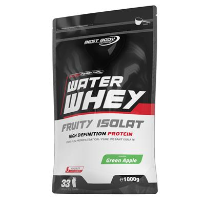 Professional Water Whey Fruity Isolat - Green Apple - 1000 g zip bag