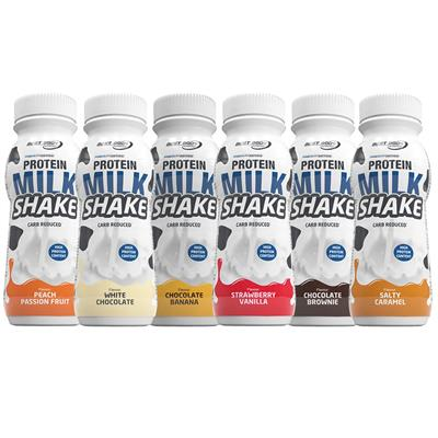 Protein Milk Shake - Mix Box - 6 x 250 ml Flasche