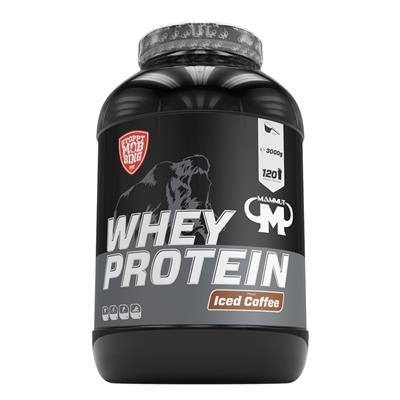 Whey Protein - Iced Coffee - 3000 g Dose