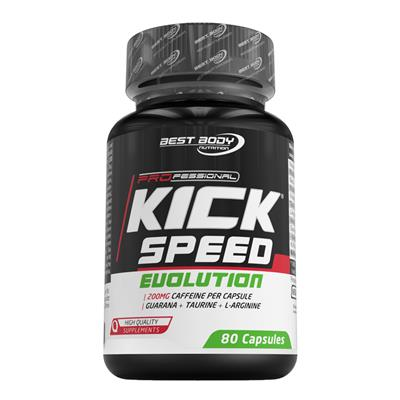 Professional Kick Speed Evolution Caps - 80 Stück/Dose