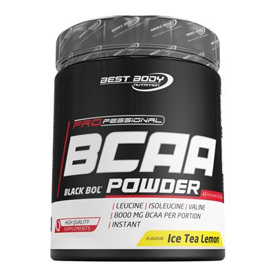 Professional BCAA Powder - Lemon Ice Tea - 450 g can