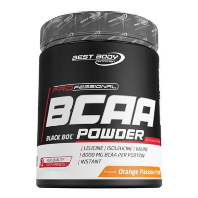 Professional BCAA Powder - Orange Passion Fruit - 450 g Dose