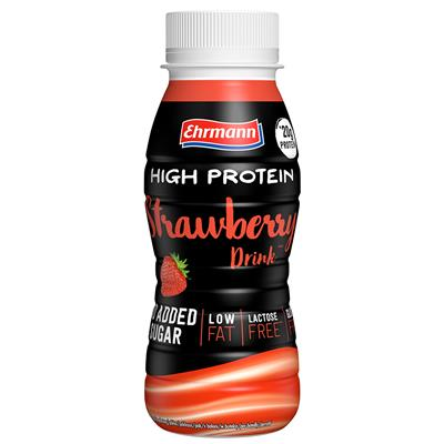 High Protein Drink - RTD - Strawberry - 250 ml PET bottle