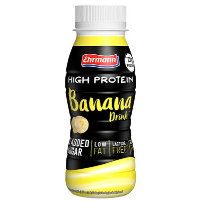 High Protein Drink - RTD - Banana - 250 ml PET bottle