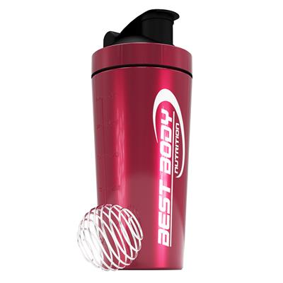 Stainless Steel Shaker - pink -Design Best Body Nutrition - unit