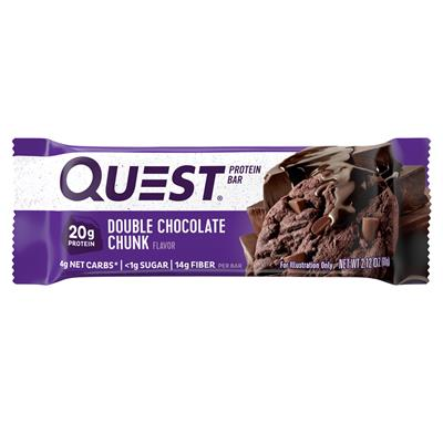 Quest Protein Bar - Double Chocolate Chunk - 60g Riegel