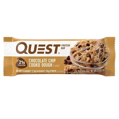 Quest Protein Bar - Chocolate Chip Cookie Dough - 60g Riegel