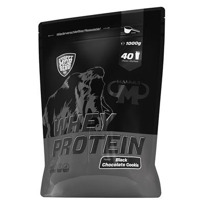 Whey Protein - Black Chocolate Cookie - 1000 g Zipp-Beutel