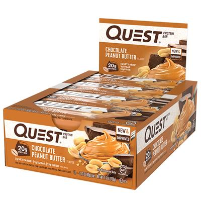 Quest Protein Bar - Chocolate Peanut Butter - 60g Riegel